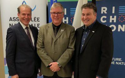 Québec accorde près d'un million $ pour démolir deux anciens pavillons du Tremplin à Richmond