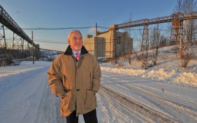 Le président de Mine Jeffrey Bernard Coulombe appuie le changement de nom d'Asbestos