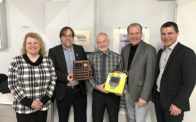 Un nouveau défibrillateur externe automatisé à Danville