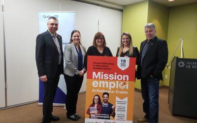 Plus de 1000 postes offerts lors de Mission emploi Arthabaska-Érable