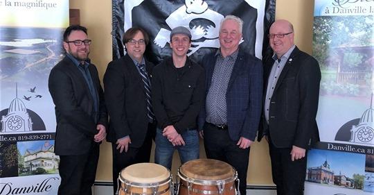 Inauguration de Percussion MOPERC à Danville