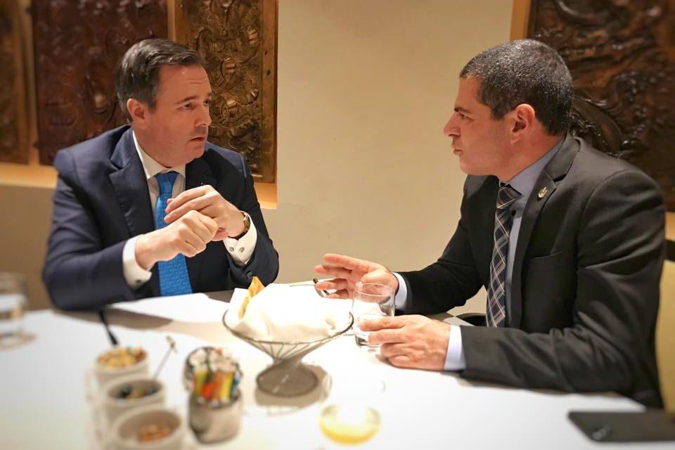 Alain Rayes a rencontré le premier ministre de l'Alberta Jason Kenney
