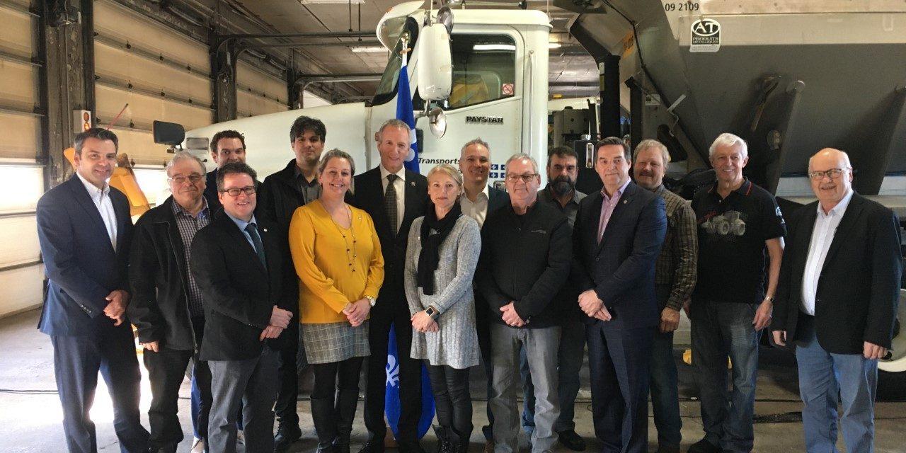 Travaux routiers de plus de 142 millions $ dans le Centre-du-Québec