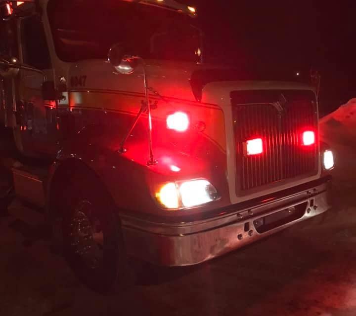 Les pompiers illuminent les rues de danville