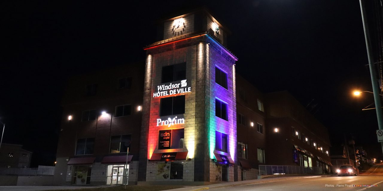 Windsor illumine son hôtel de ville