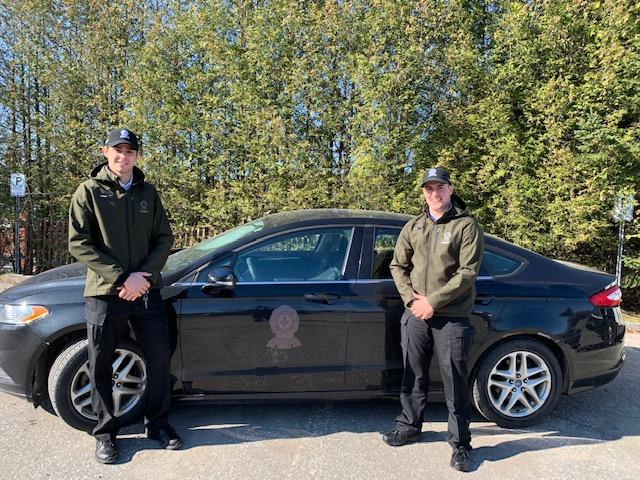 Deux cadets de la Sûreté du Québec à Windsor cet été