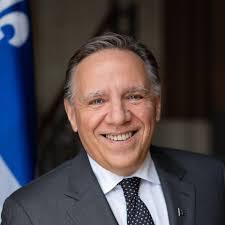 François Legault en Estrie aujourd'hui