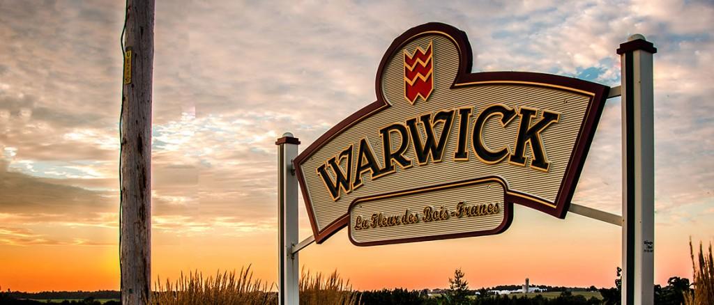Exposition extérieure à Warwick