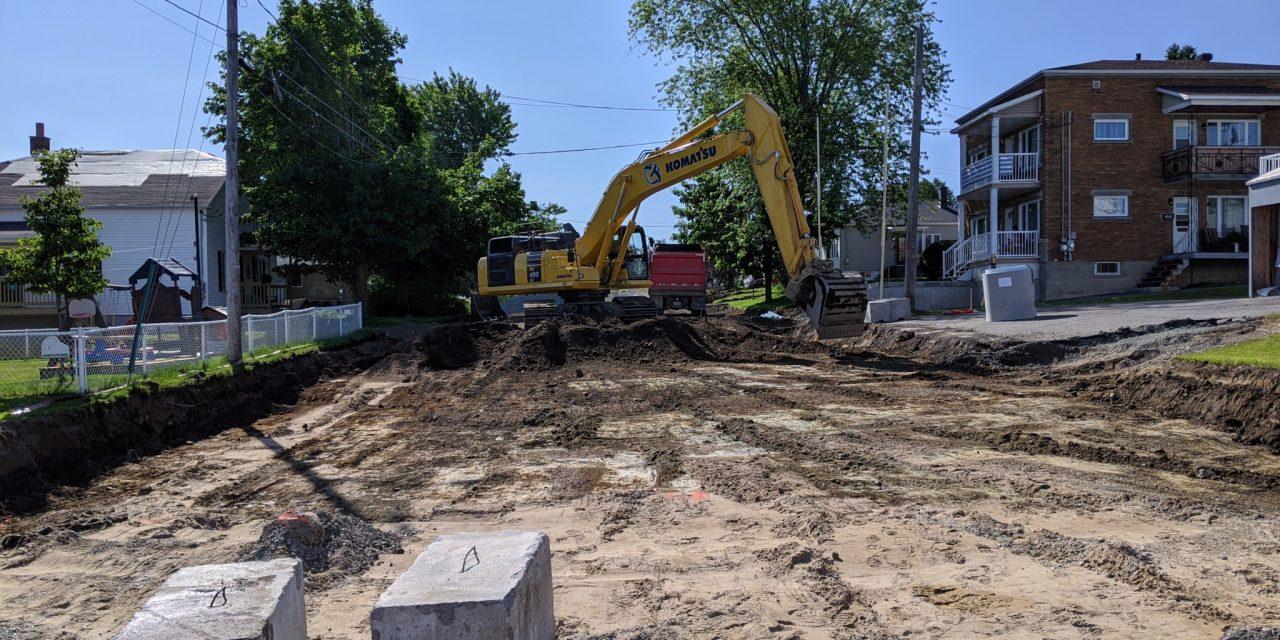 Près de 4 millions pour les infrastructures d'eau à Asbestos
