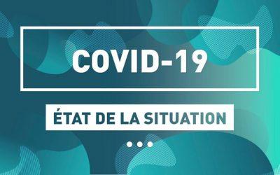 COVID-19 : 156 nouvelles infections en Estrie