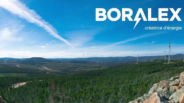 Refinancement d'un projet de 805 millions de dollars pour Boralex