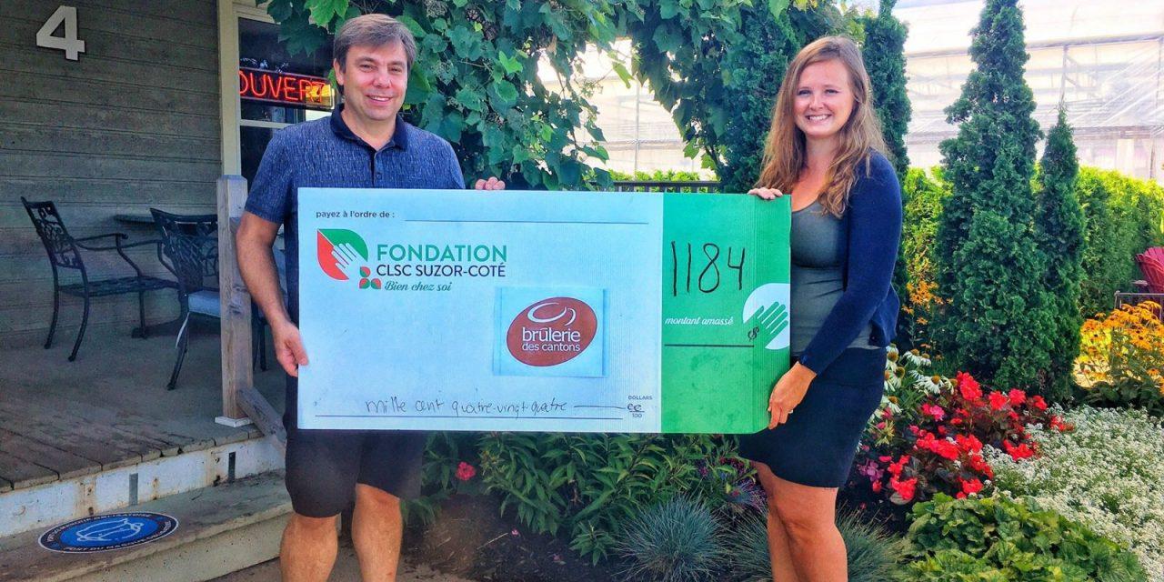 Près de 1 200 $ pour la Fondation CLSC Suzor-Côté