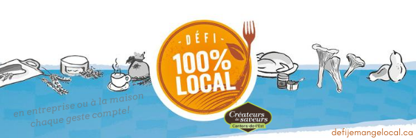 Les Québécois invités à participer au Défi 100 % local