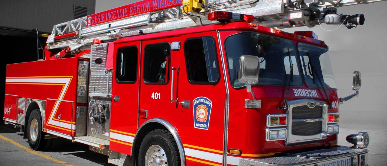 Début d'incendie maîtrisé chez Papiers couchés Atlantic à Windsor