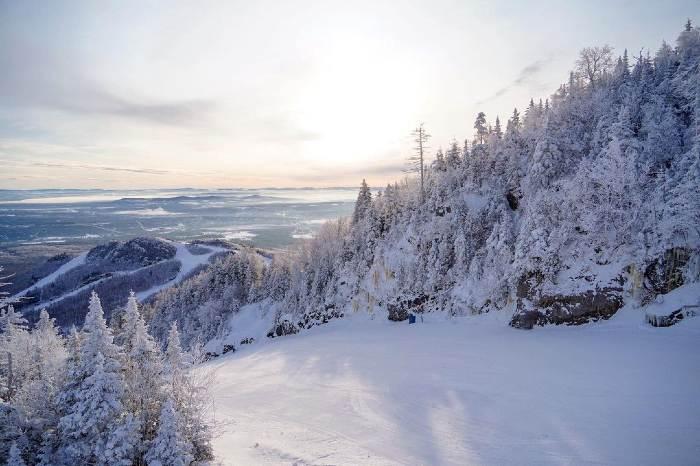 Randonnées hivernales au Mont-Orford