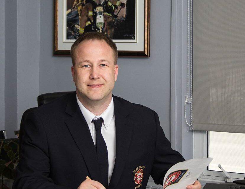 Nouveau rôle pour le directeur de la Régie incendie de la région de Windsor