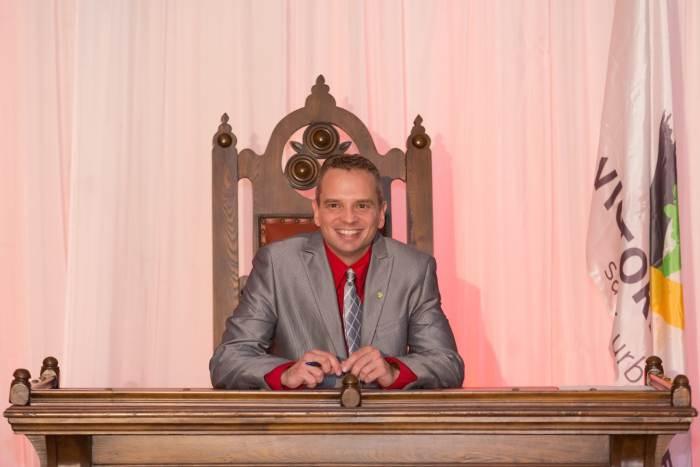 Le conseiller municipal Yanick Poisson sollicite un deuxième mandat à Victoriaville