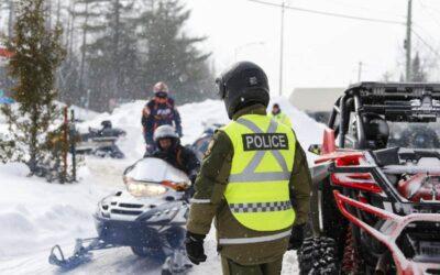 Près de 700 usagers des sentiers interpellés par la Sûreté du Québec lors de l'opération IMPACT