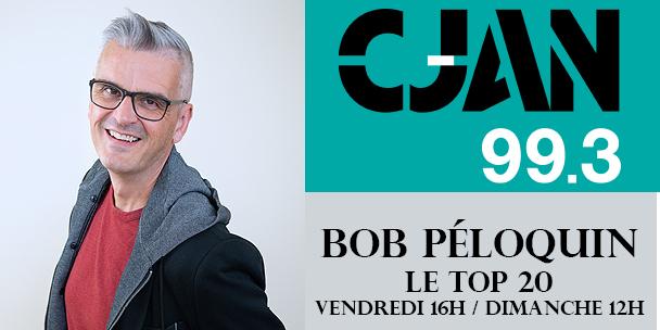 Page couverture TOP 20 Bob Péloquin