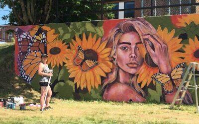 Windsor confie la réalisation d'une nouvelle murale extérieure à l'artiste Jessica Chabot