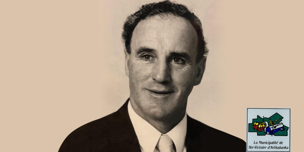 décès de l'ancien maire de Sainte-Victoire d'Arthabaska, Henri Normand