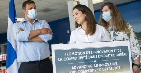 Ottawa investit dans des projets pilotés par trois fromageries en Estrie et au Centre-du-Québec