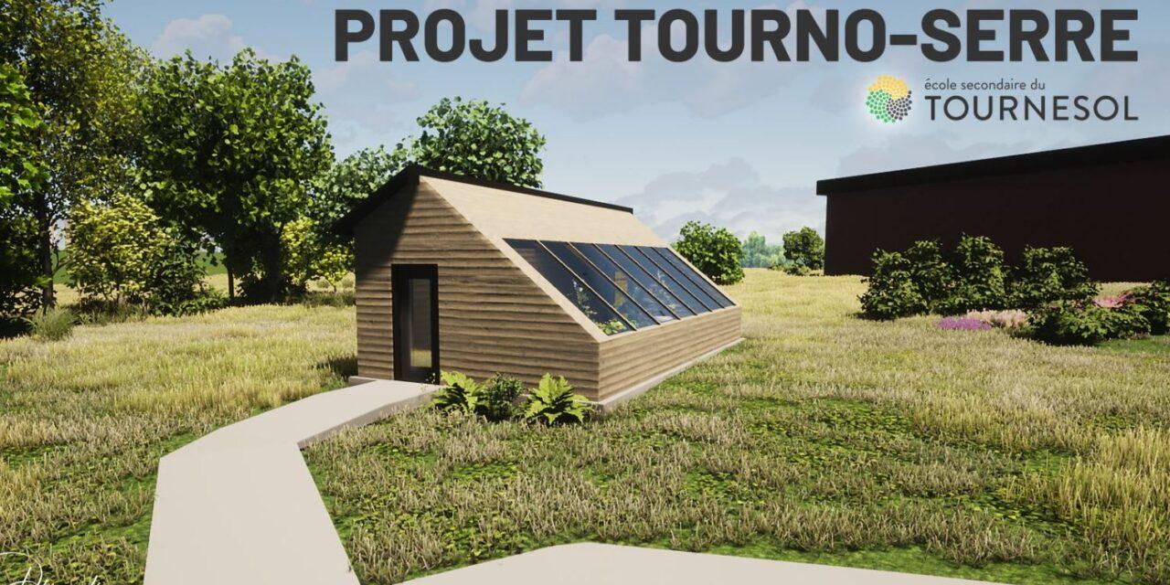 Entrevue : Projet Tourno-Serre, école secondaire du Tournesol
