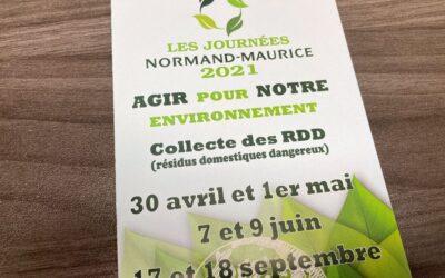 Les Journées Normand-Maurice ont lieu les 17 et 18 septembre