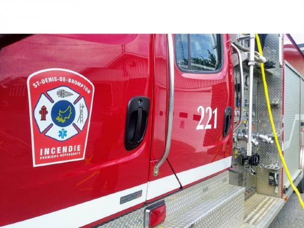 St-Denis-de-Brompton en discussions avec Sherbrooke en lien avec le service incendie
